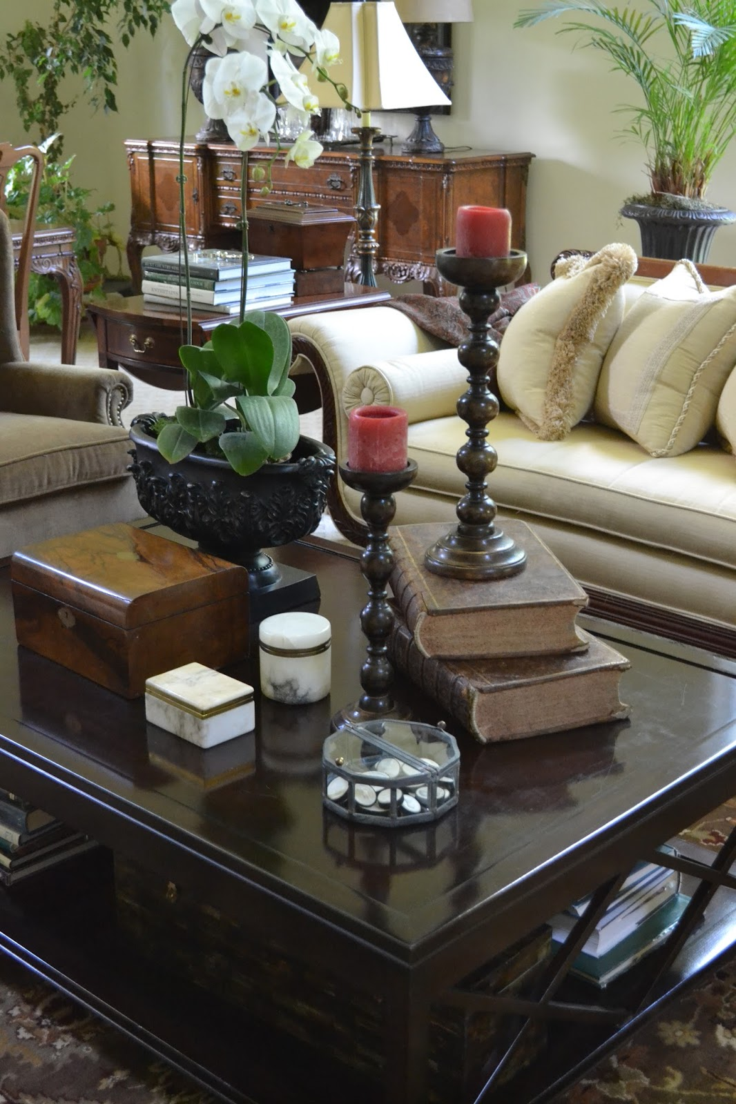Candle Decor Living Room Coffee Tables
