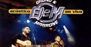 BRUNO MARRONE 2002 E BAIXAR ACUSTICO CD
