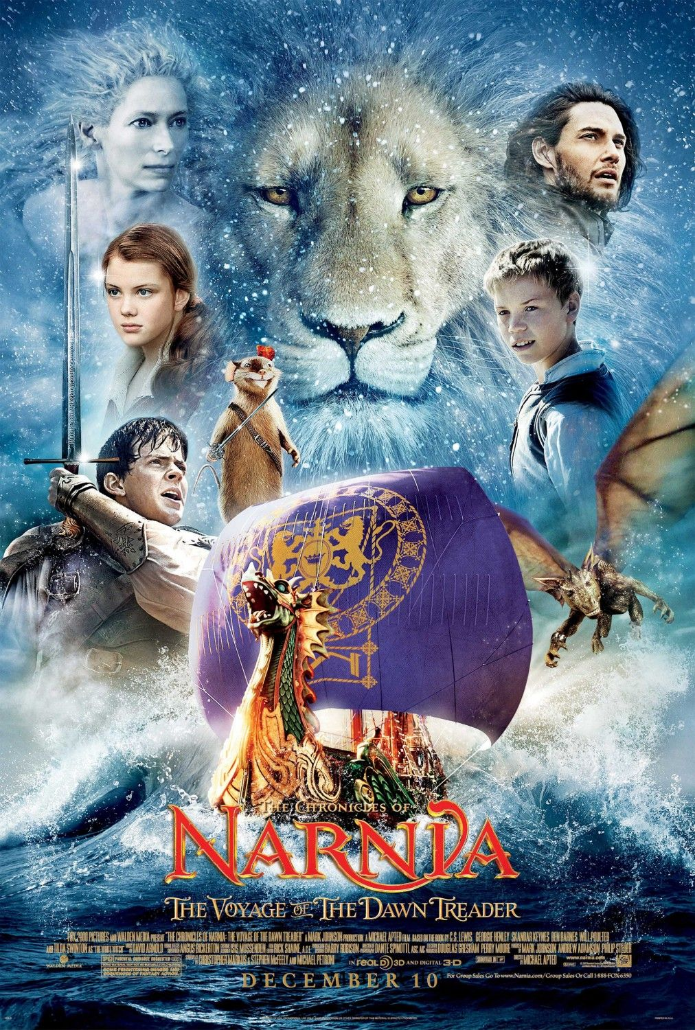 The Chronicles of Narnia: The Voyage of the Dawn Treader 2010 - Full (HD)