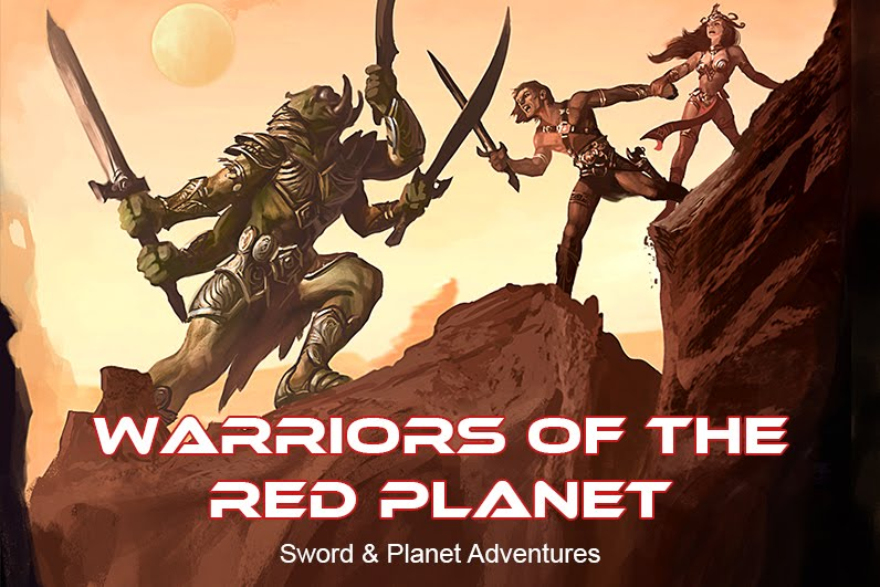 Warriors of the Red Planet RPG