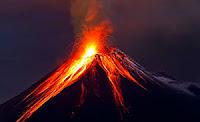 Изригване на вулкан