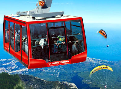 Olympus Aerial Tram Di Turki