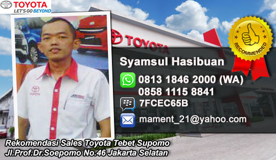 Toyota Tebet Soepomo Jakarta Selatan
