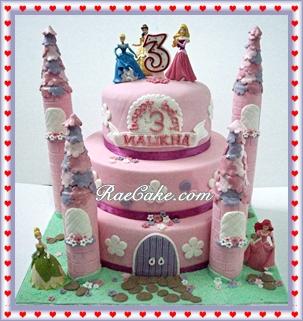 Princess Disney Cake And Cupcake For Malikha Kue Ulang