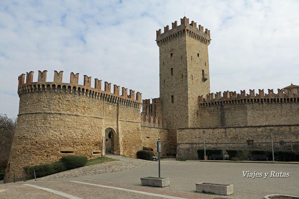 Murallas de Vigoleno, Piacenza, Italia