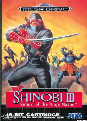Rom de Shinobi 3 - Mega Drive - PT-BR