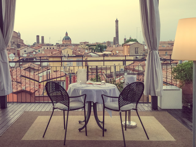 Bologna with a view in a secret guide roofs terraces and