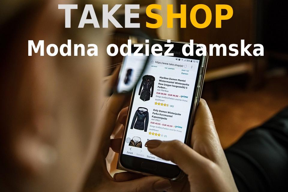 TAKE SHOP - Modna odzeż damska.