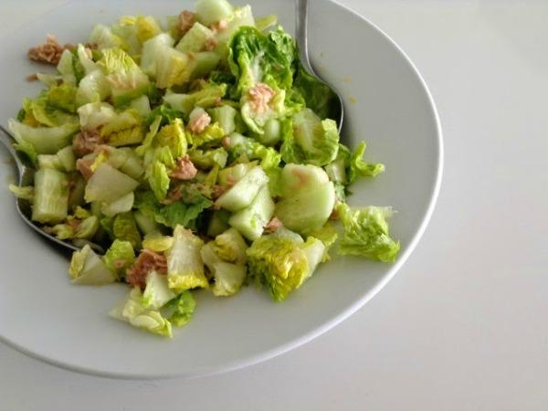 ensaladas para perder peso rapido