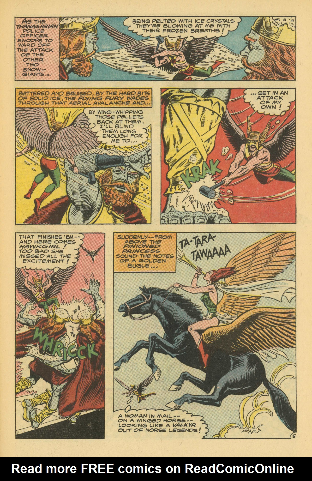 Hawkman (1964) issue 13 - Page 7