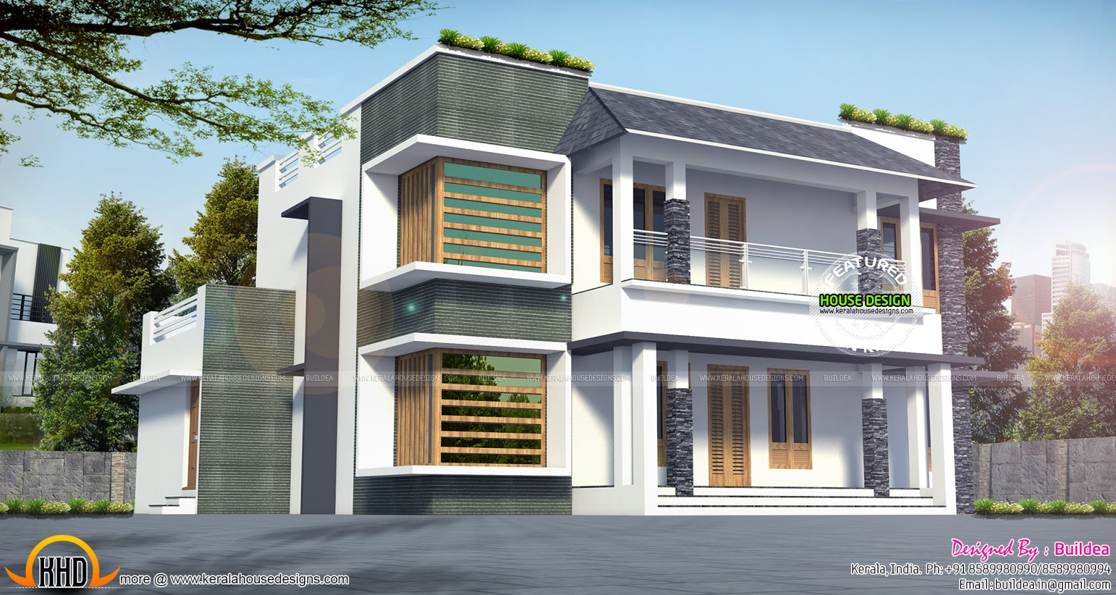 2270 sq ft modern home architecture