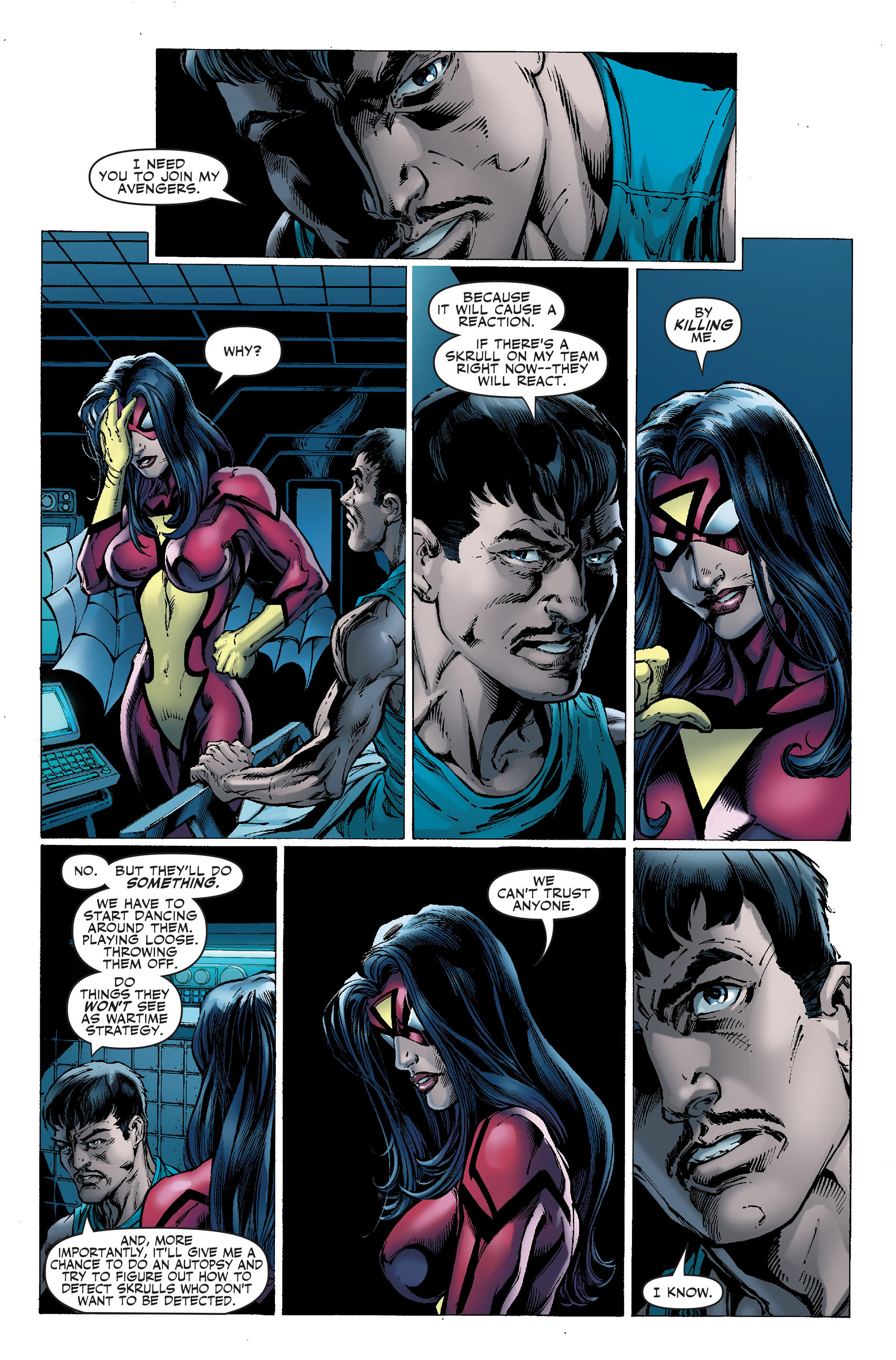 Read online Secret Invasion: The Infiltration comic -  Issue #1 - 8