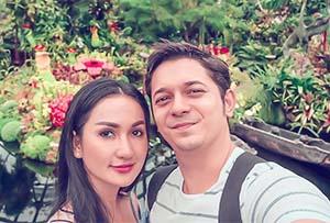 Tengku Dewi Putri Dan Suaminya