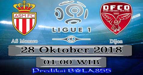 Prediksi Bola855 AS Monaco vs Dijon 28 Oktober 2018