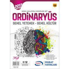 Murat Yayınları KPSS Lisans Ordinaryüs Konu Anlatımlı Modüler Set (2017)