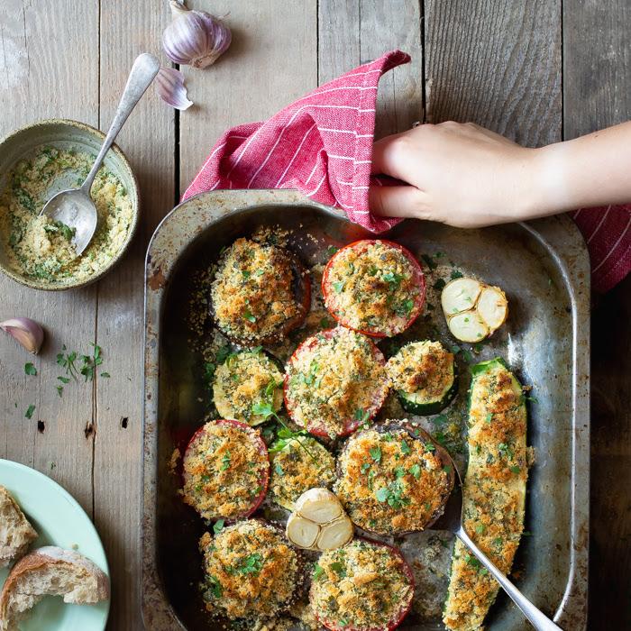 Pieczone warzywa alla romagnola z warsztatów kulinarnych w Umbrii