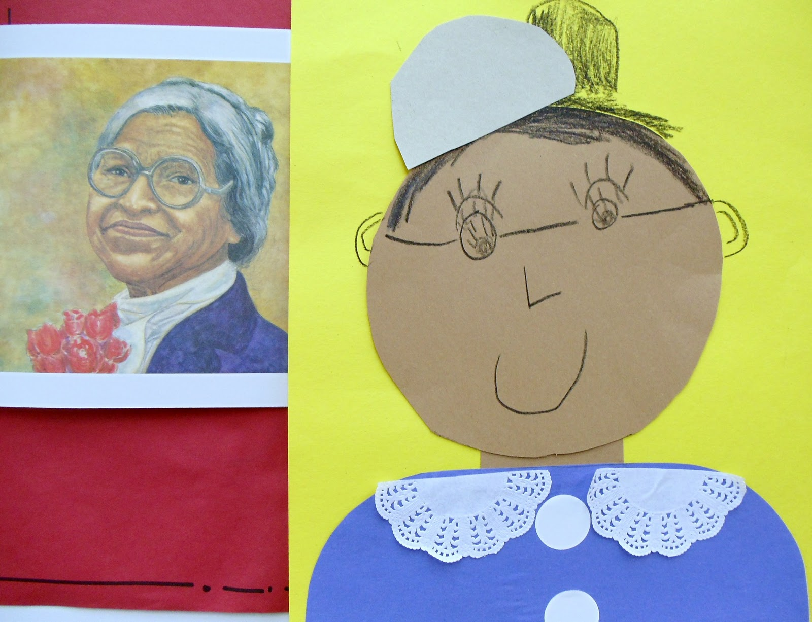 Rosa Parks Your Students Will Have Fun With This Pop Art Paragraph Writing Paper Let Them