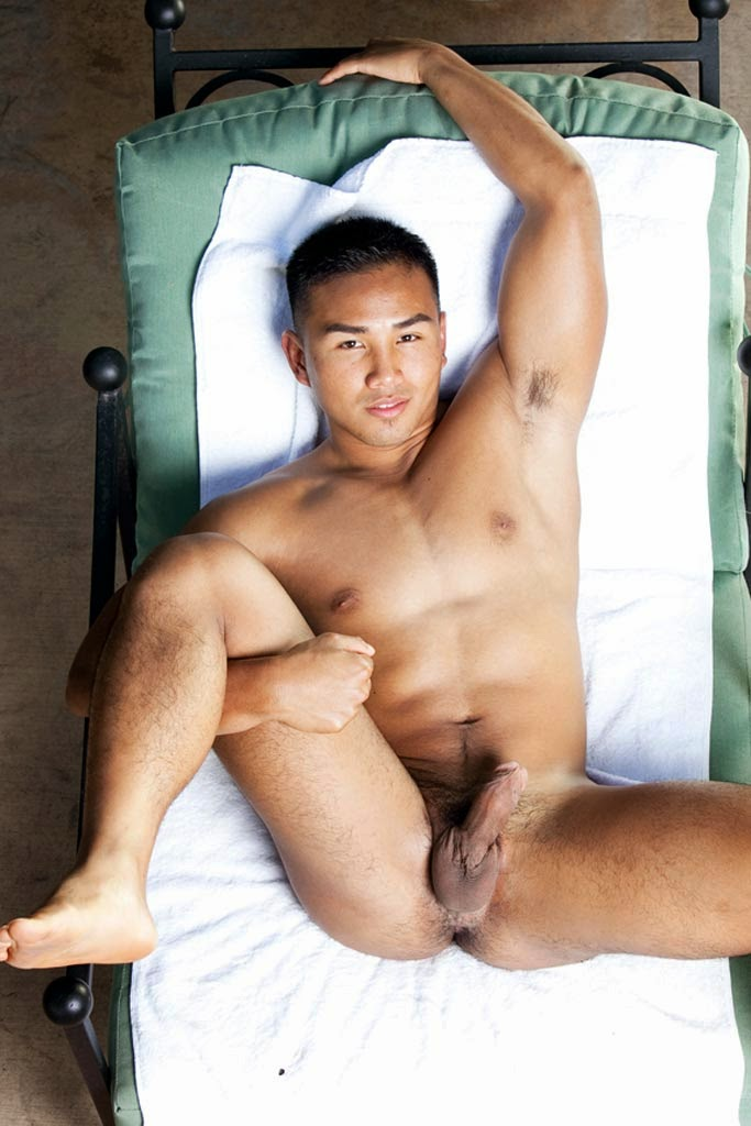 Hairy naked asian men consider
