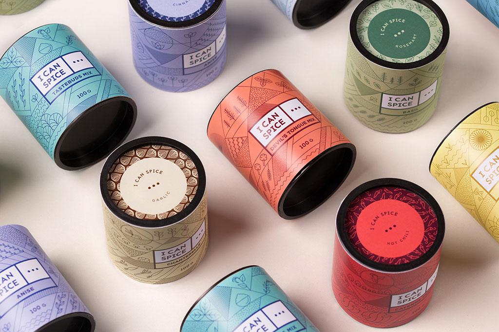 Inspirasi Desain Kemasan Packaging - I CAN SPICE