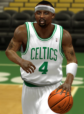 NBA 2K13 Jason Terry Cyberface Patch