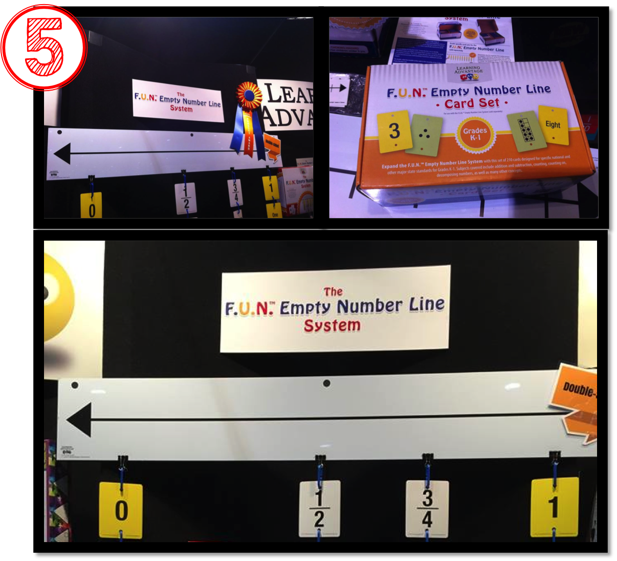 empty number line, Blogger Top Ten, EDmarket, EDexpo2015