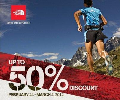 c2af8a925 Manila Shopper: NORTH FACE SALE at Travel Club Rockwell