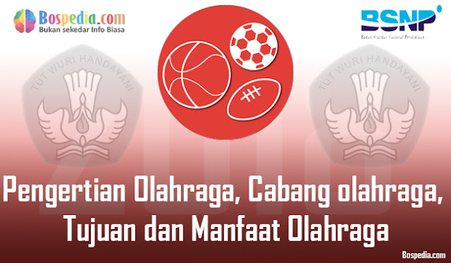 Pengertian Olahraga, Cabang olahraga, Tujuan dan Manfaat Olahraga