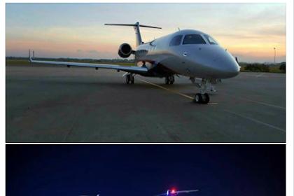 Ternyata Dr. Zakir Naik Terbang Dengan Jet Pribadi Selama di Indonesia