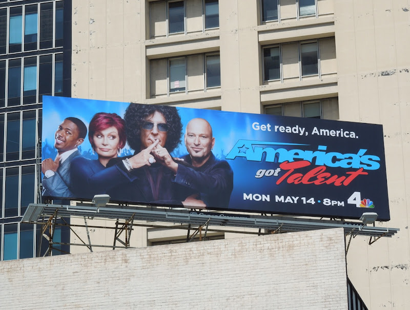 America's Got Talent season 7 billboard