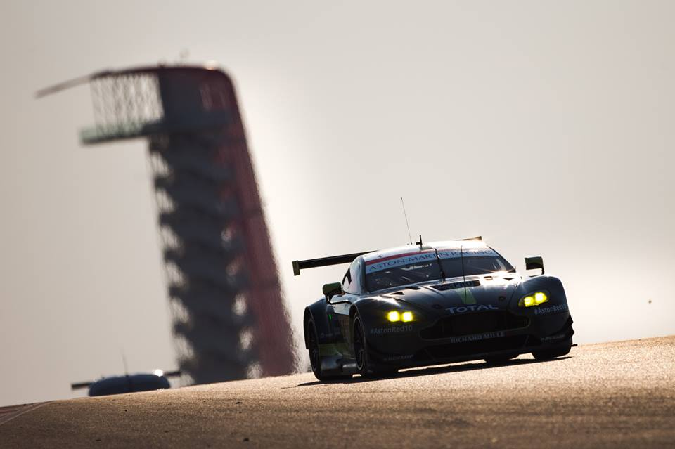 Battered And Bruised Aston Martin Racing Takes Am Class