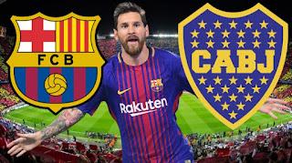 مشاهدة مباراة برشلونة وبوكا جونيورز بث مباشر بتاريخ 15-08-2018 كأس جوهان غامبر