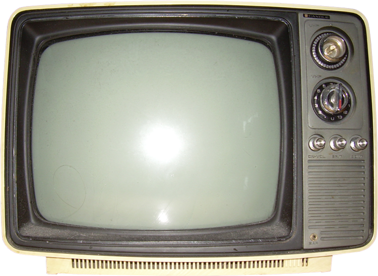 Free Cut Outs Old Television