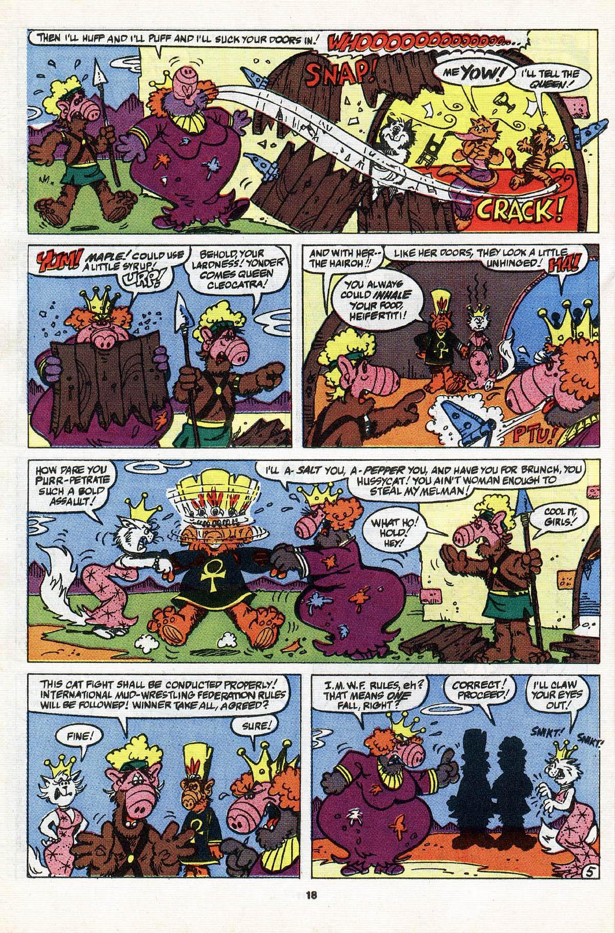 Read online ALF comic -  Issue #31 - 15