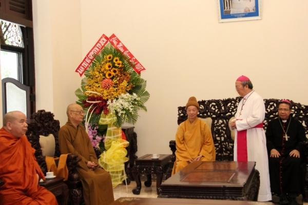 Thành hội Phật giáo chúc mừng Giáng sinh tới tổng giáo phận Sài gòn - Ảnh minh hoạ 9