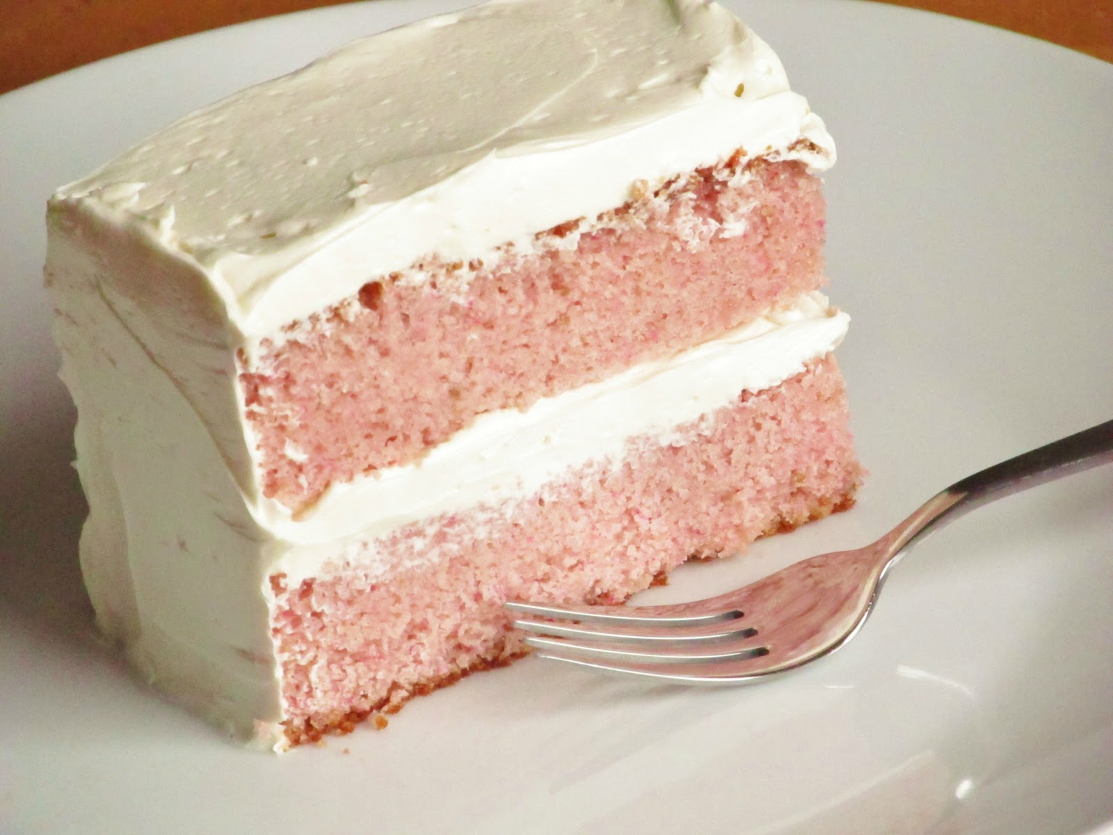 Strawberry Cake From Scratch With All Purpose Flour