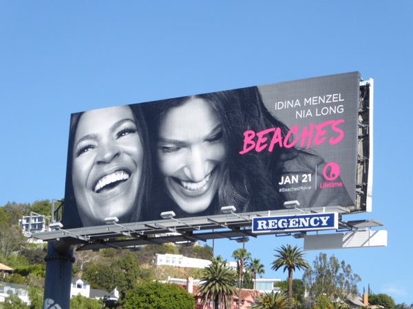 Beaches Lifetime movie remake billboard