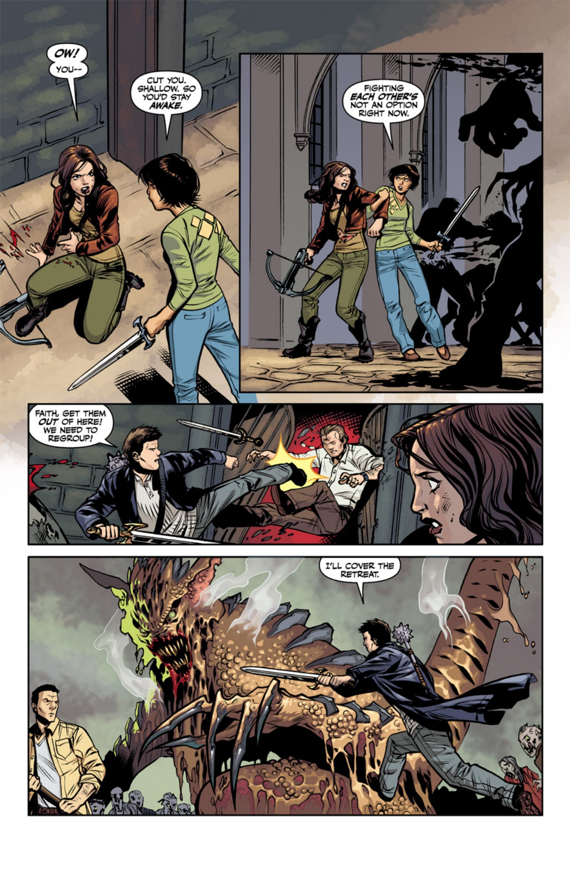 Read online Angel and Faith comic -  Issue #18 - 12