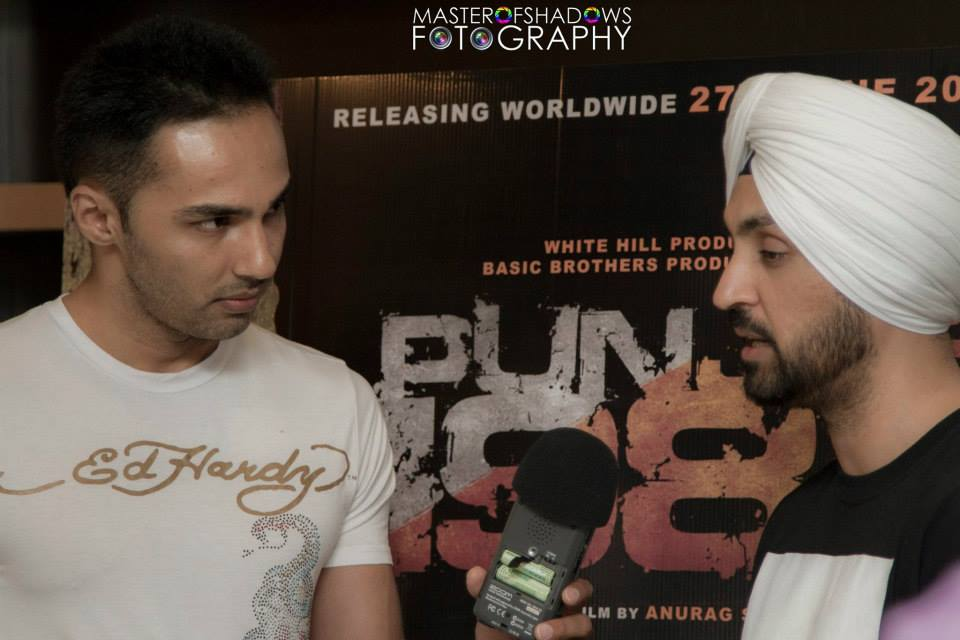 Diljit Dosanjh - Toronto Press Conference