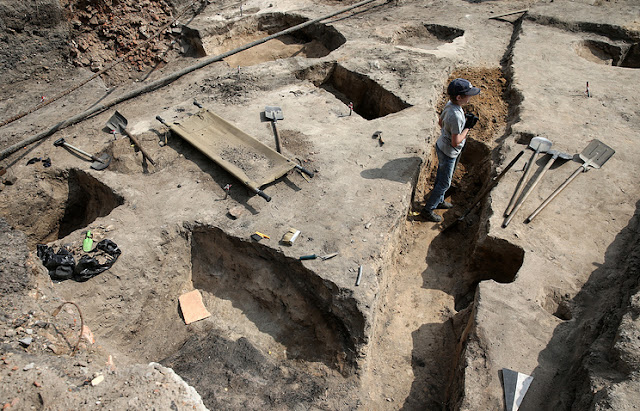 Ancient Greek fortress unearthed in southern Russia