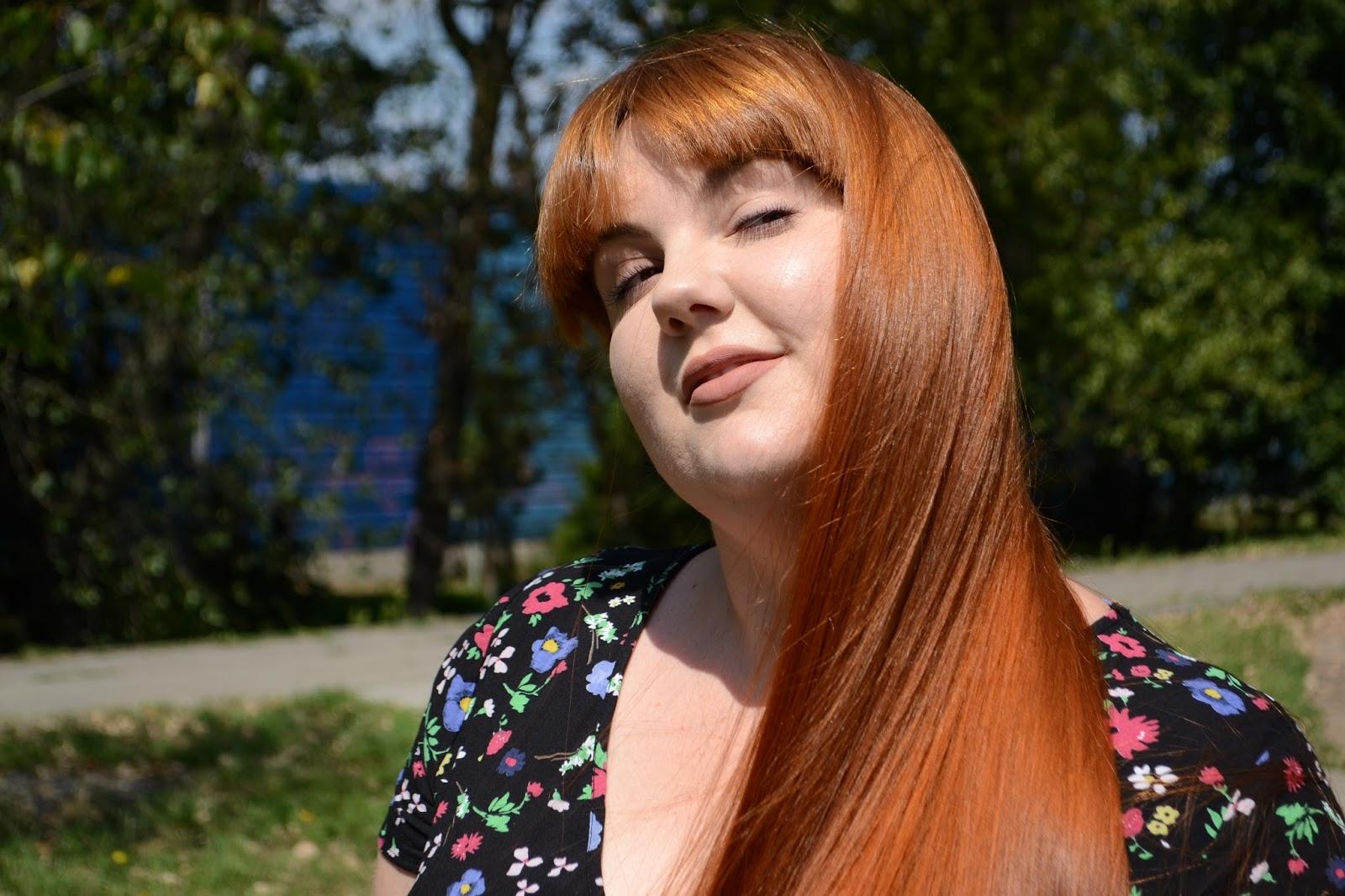 Aktualizacja włosowa - Lipiec, jak przypadkiem uzyskałam nowy kolor włosów/nowe zioło