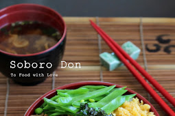Soboro Don (Japanese Ground Chicken Rice Bowl)
