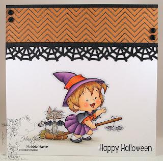 Heather's Hobbie Haven - Alternate Broom Ride Coloring