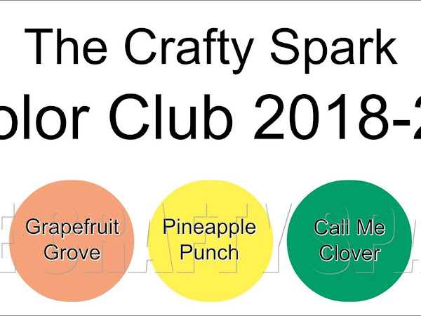 Announcing the new In Color Club 2018-2020... crafting on a budget!