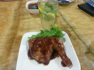 Ayam rosemary panggang