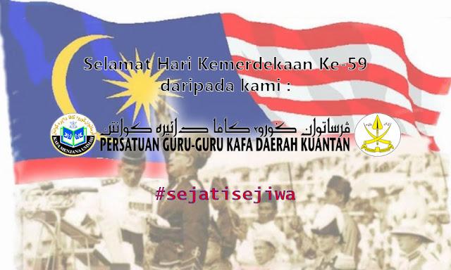 Selamat Menyambut Hari Kemerdekaan Ke-59