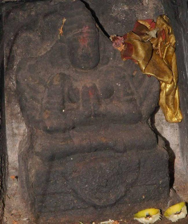Garuda In Female Form At Rajagopalaswamy Temple