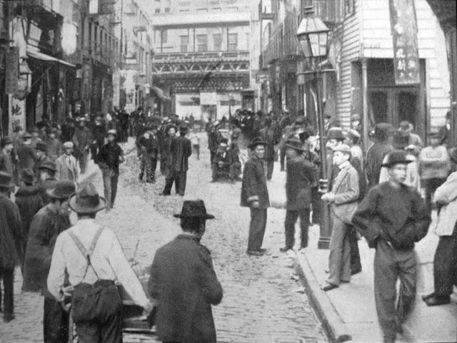 Chinatown, Poll street, New York, NY 1899