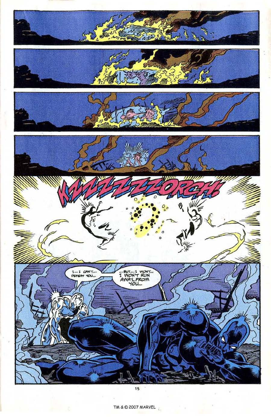 Read online Silver Surfer (1987) comic -  Issue #64 - 17