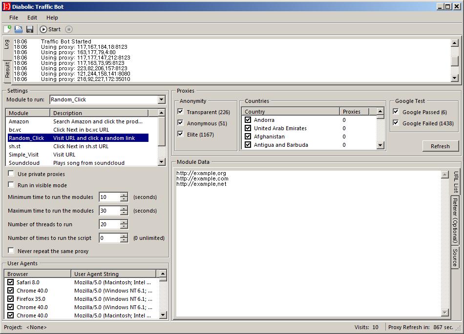 Image result for [GET] Diabolic Traffic bot v5.20