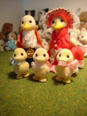 Sylvanian Families Waddlington Puddleford Ducks